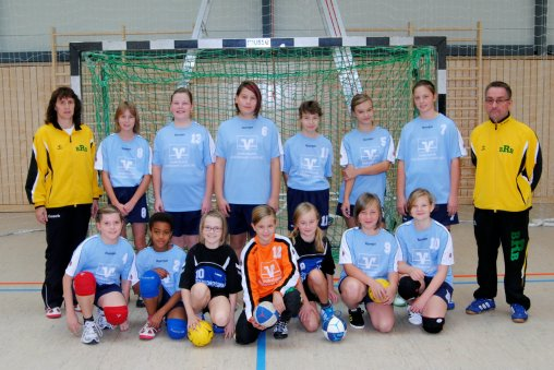 Handball kreisrunde in burg